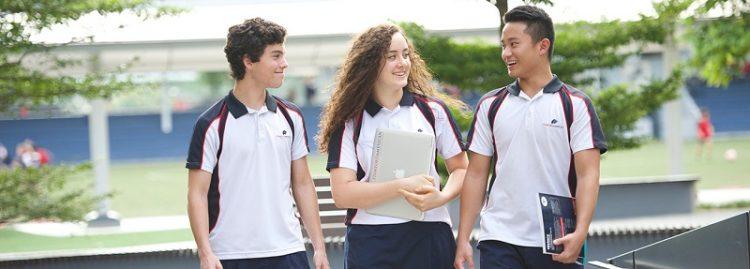 เสื้อโปโลพร้อมปักยูนิฟอร์มนักเรียน
